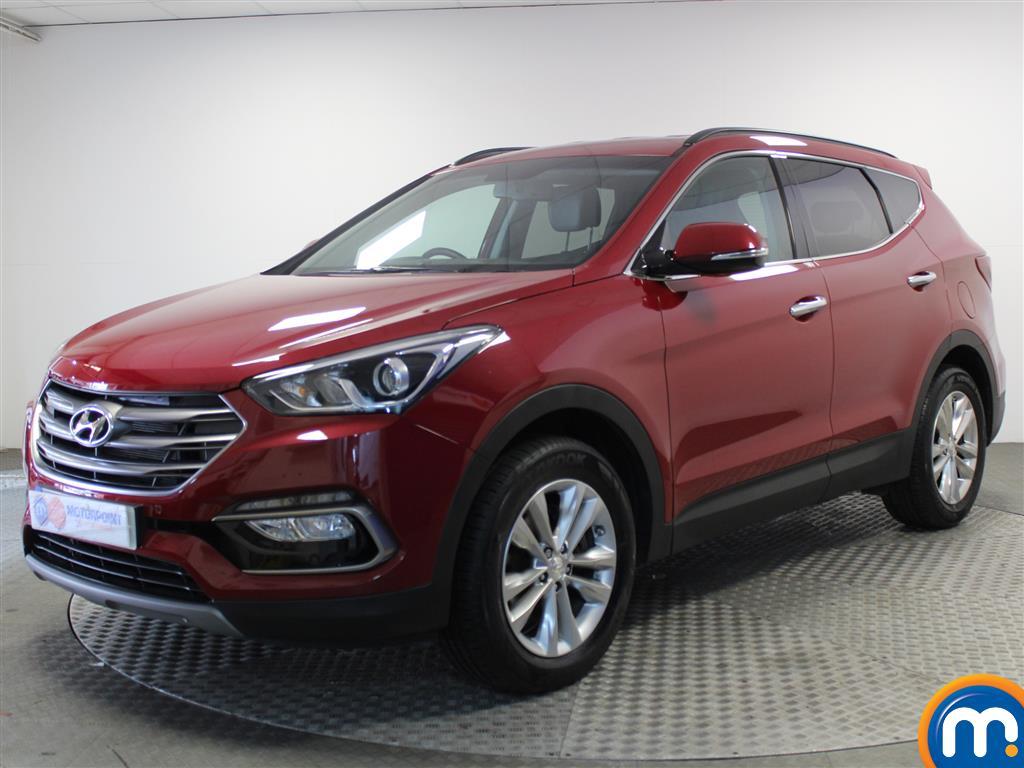Hyundai Santa Fe Premium - Stock Number (1017221) - Passenger side front corner