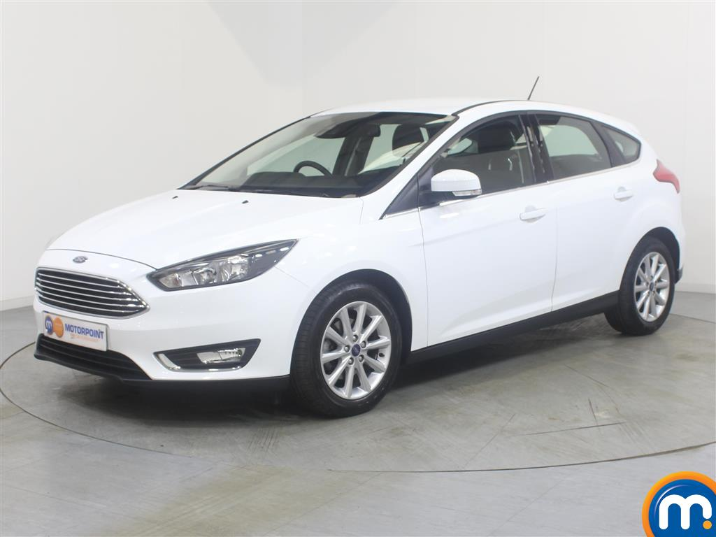 Ford Focus Titanium - Stock Number 1018269 Passenger side front corner
