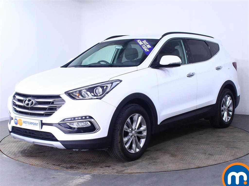 Hyundai Santa Fe Premium - Stock Number (1007125) - Passenger side front corner