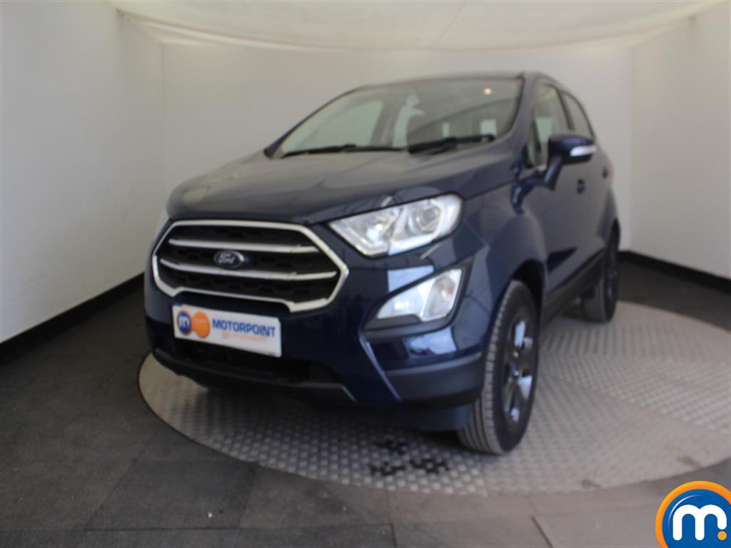 Ford Ecosport Zetec - Stock Number (1020505) - Passenger side front corner