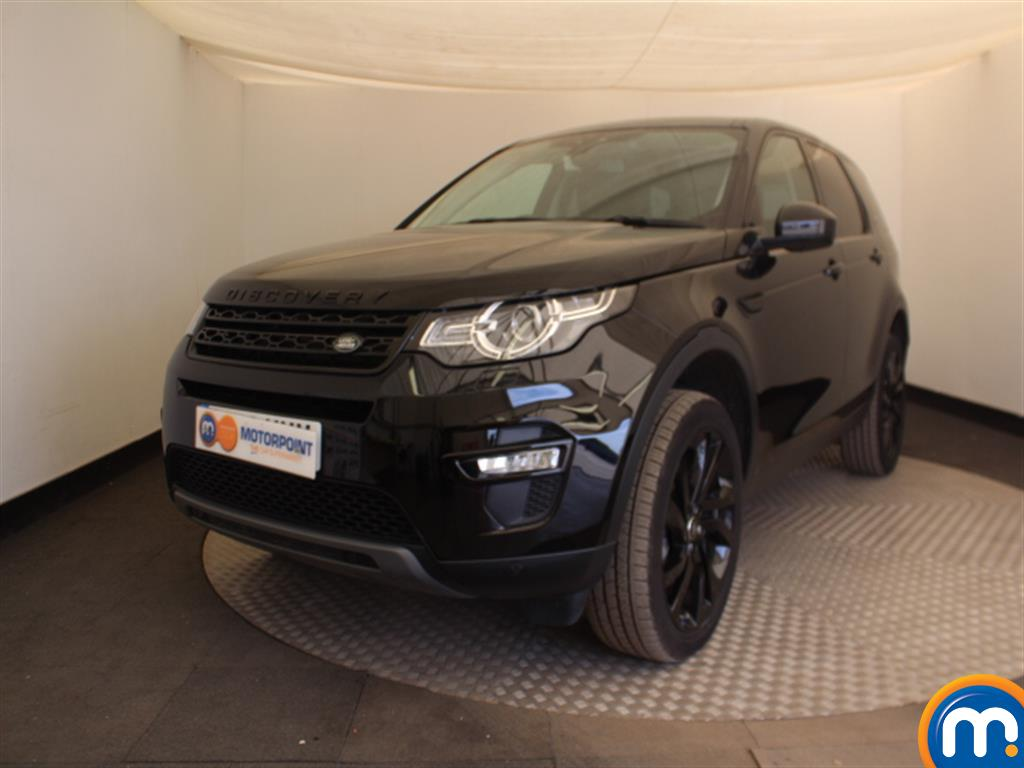 Land Rover Discovery Sport HSE Black - Stock Number (1021729) - Passenger side front corner