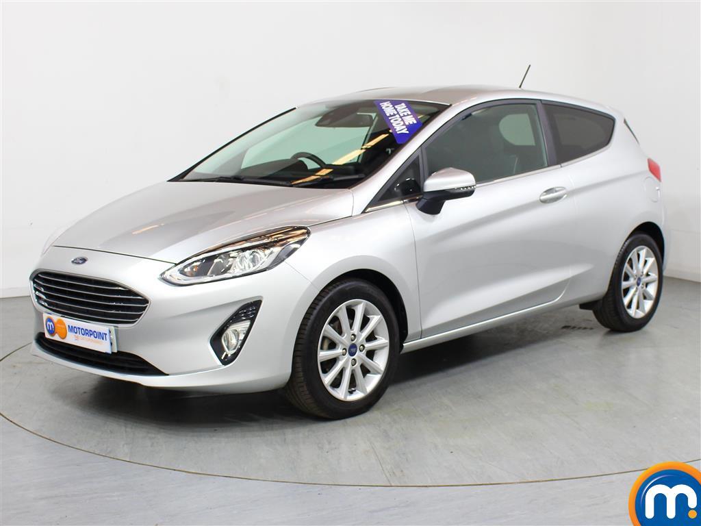 Ford Fiesta Titanium - Stock Number (1014301) - Passenger side front corner
