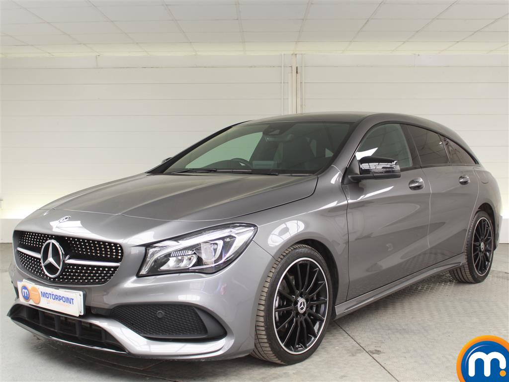 Mercedes-Benz Cla Class AMG Line Night Edtion - Stock Number (1014379) - Passenger side front corner