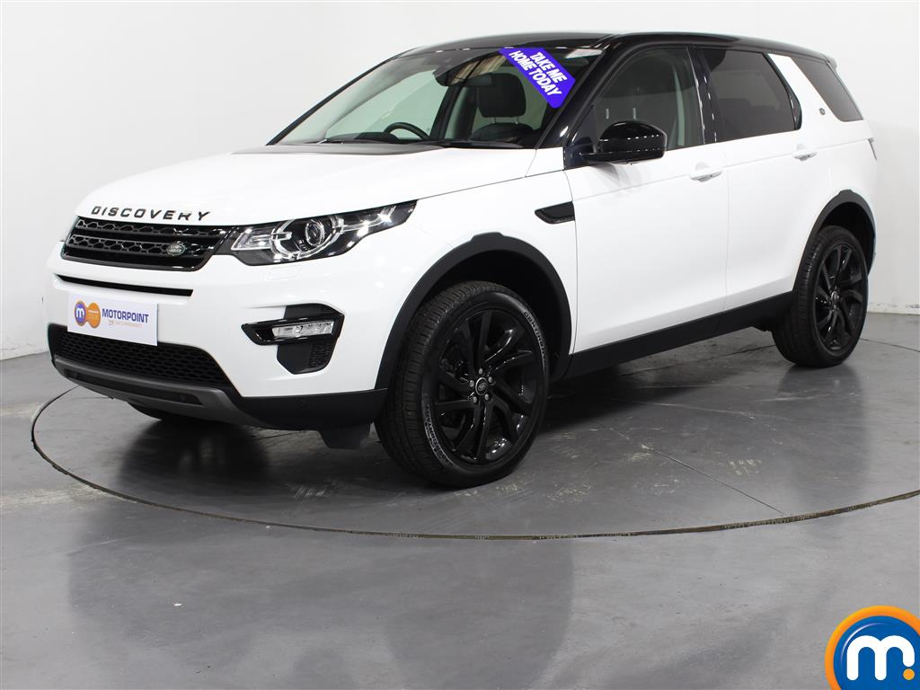 Land Rover Discovery Sport HSE Black - Stock Number (1019388) - Passenger side front corner