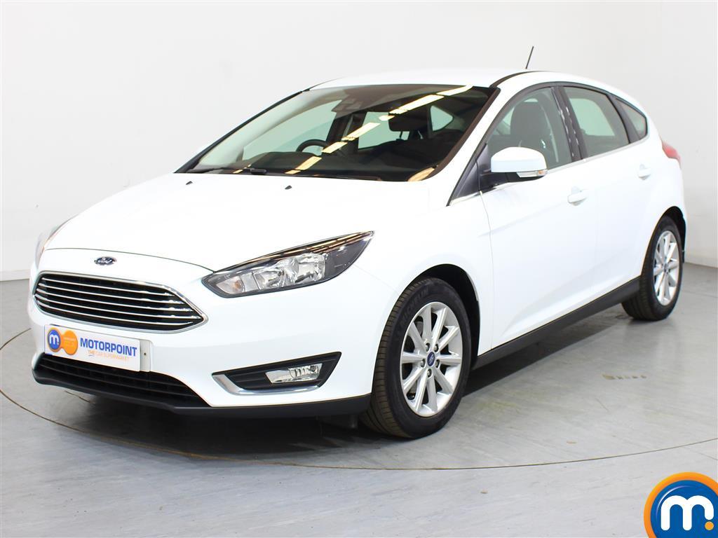 Ford Focus Titanium - Stock Number 1018226 Passenger side front corner