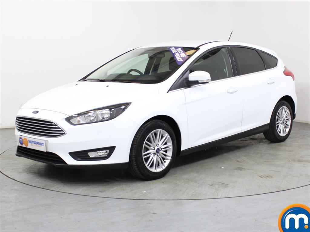 Ford Focus Zetec Edition - Stock Number (1012278) - Passenger side front corner