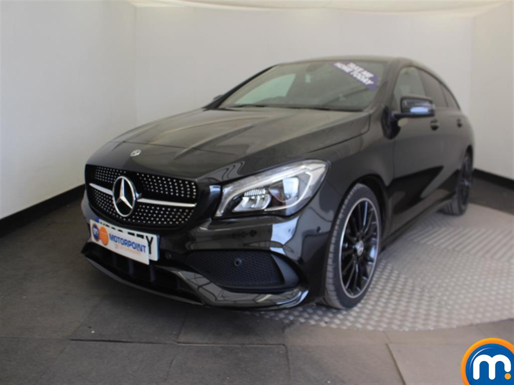Mercedes-Benz Cla Class AMG Line Night Edtion Plus - Stock Number (1013824) - Passenger side front corner