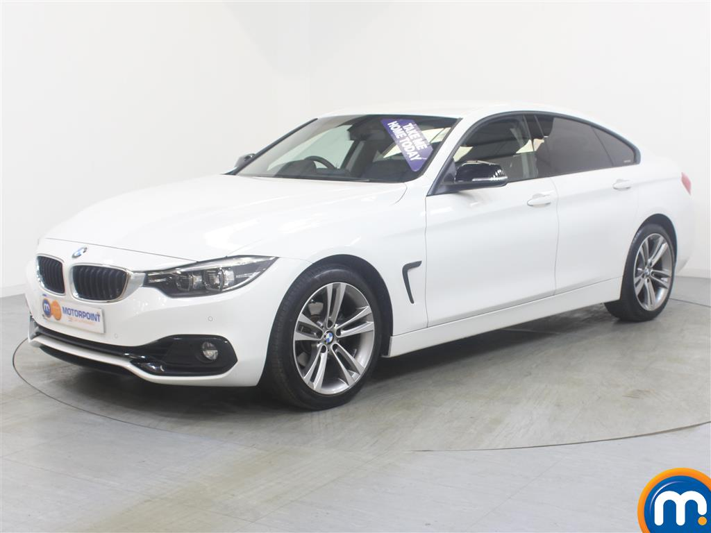 BMW 4 Series Sport - Stock Number (1018192) - Passenger side front corner