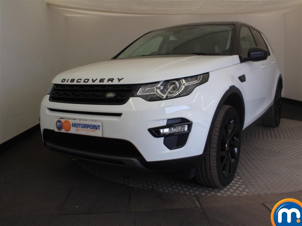 Land Rover Discovery Sport HSE Black - Stock Number (1019799) - Passenger side front corner