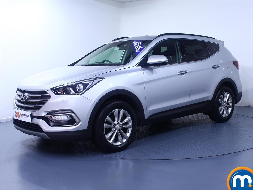 Hyundai Santa Fe Premium - Stock Number (1017211) - Passenger side front corner