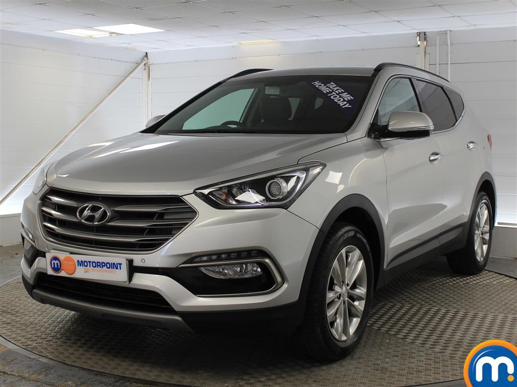 Hyundai Santa Fe Premium - Stock Number 1017179 Passenger side front corner