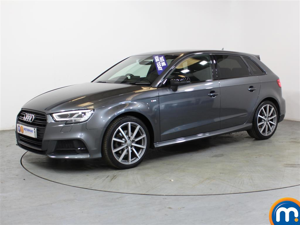 Audi A3 Black Edition - Stock Number (1018066) - Passenger side front corner