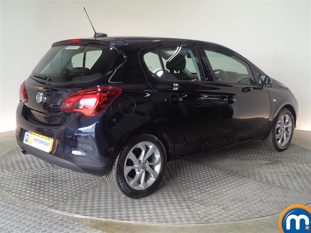Vauxhall Corsa SRI Manual Petrol Hatchback - Stock Number (1016651) - Drivers side rear corner