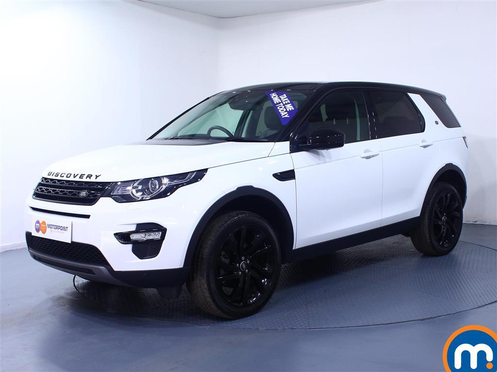 Land Rover Discovery Sport HSE Black - Stock Number (1022104) - Passenger side front corner