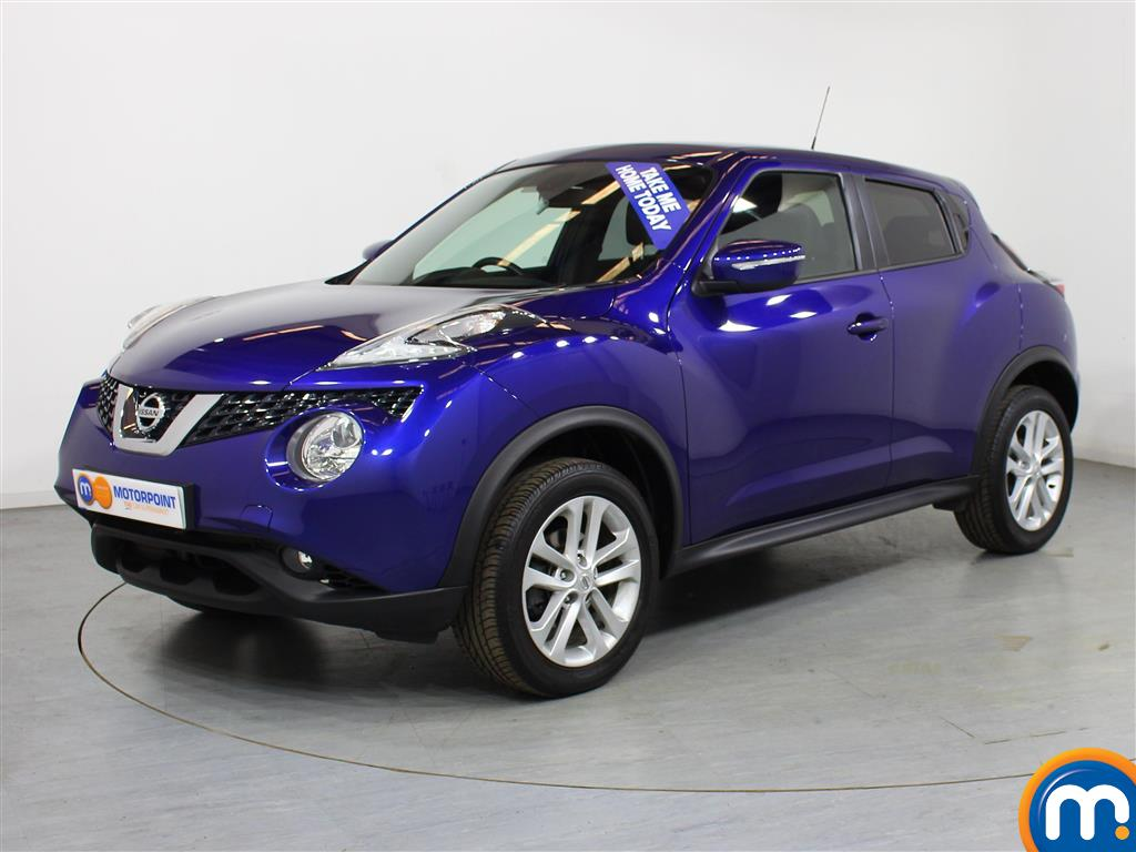 Nissan Juke N-Connecta Automatic Petrol Hatchback - Stock Number (1012672) - Passenger side front corner