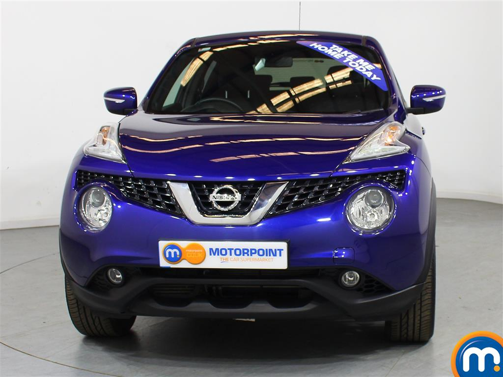 Nissan Juke N-Connecta Automatic Petrol Hatchback - Stock Number (1012672) - Front bumper