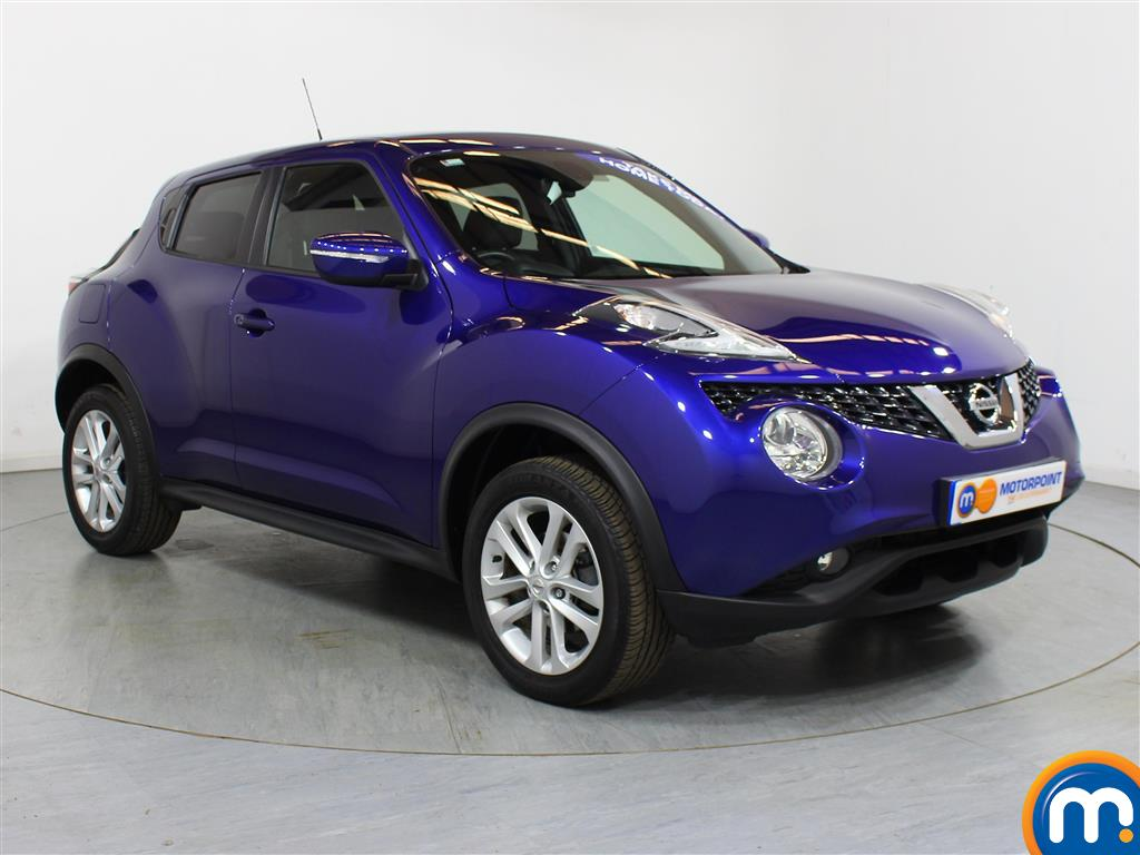 Nissan Juke N-Connecta Automatic Petrol Hatchback - Stock Number (1012672) - Drivers side front corner