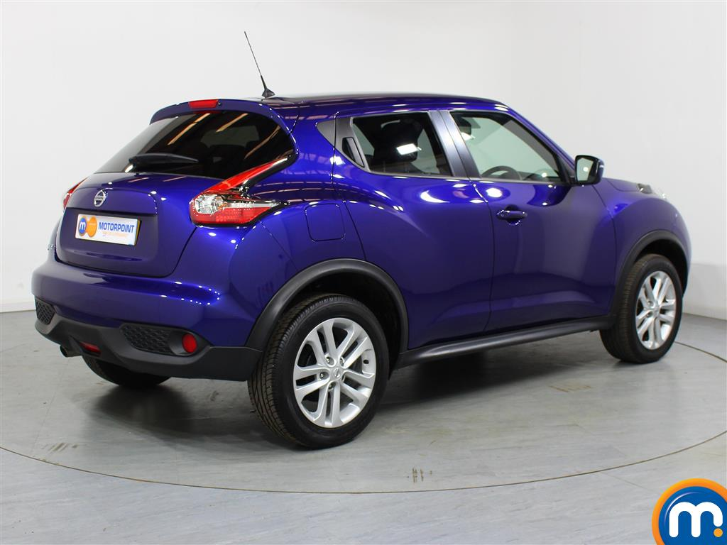 Nissan Juke N-Connecta Automatic Petrol Hatchback - Stock Number (1012672) - Drivers side rear corner