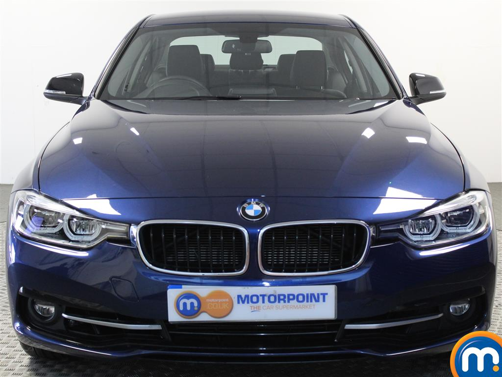 BMW 3 Series Sport Automatic Petrol Saloon - Stock Number (1018124) - Front bumper