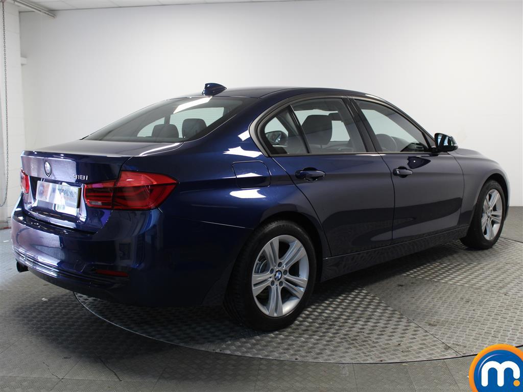 BMW 3 Series Sport Automatic Petrol Saloon - Stock Number (1018124) - Drivers side rear corner