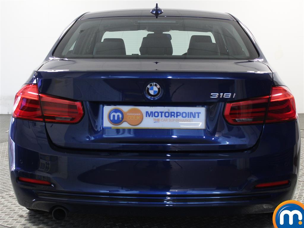 BMW 3 Series Sport Automatic Petrol Saloon - Stock Number (1018124) - Rear bumper