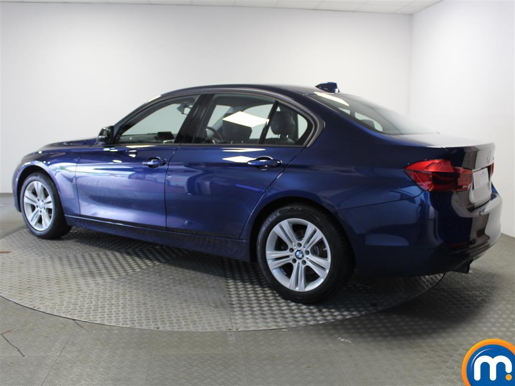 BMW 3 Series Sport Automatic Petrol Saloon - Stock Number (1018124) - Passenger side rear corner