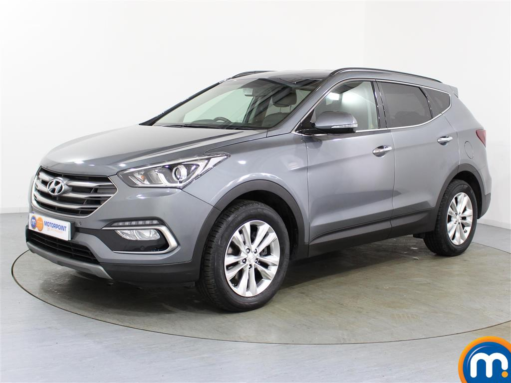Hyundai Santa Fe Premium - Stock Number (1017231) - Passenger side front corner