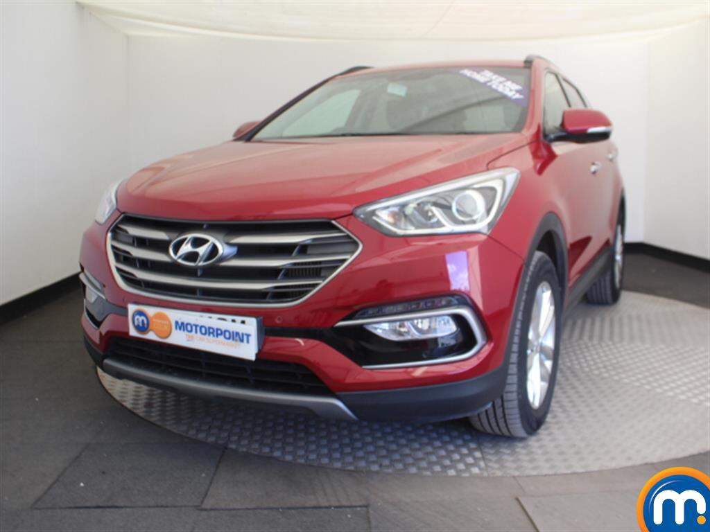 Hyundai Santa Fe Premium - Stock Number (1017183) - Passenger side front corner