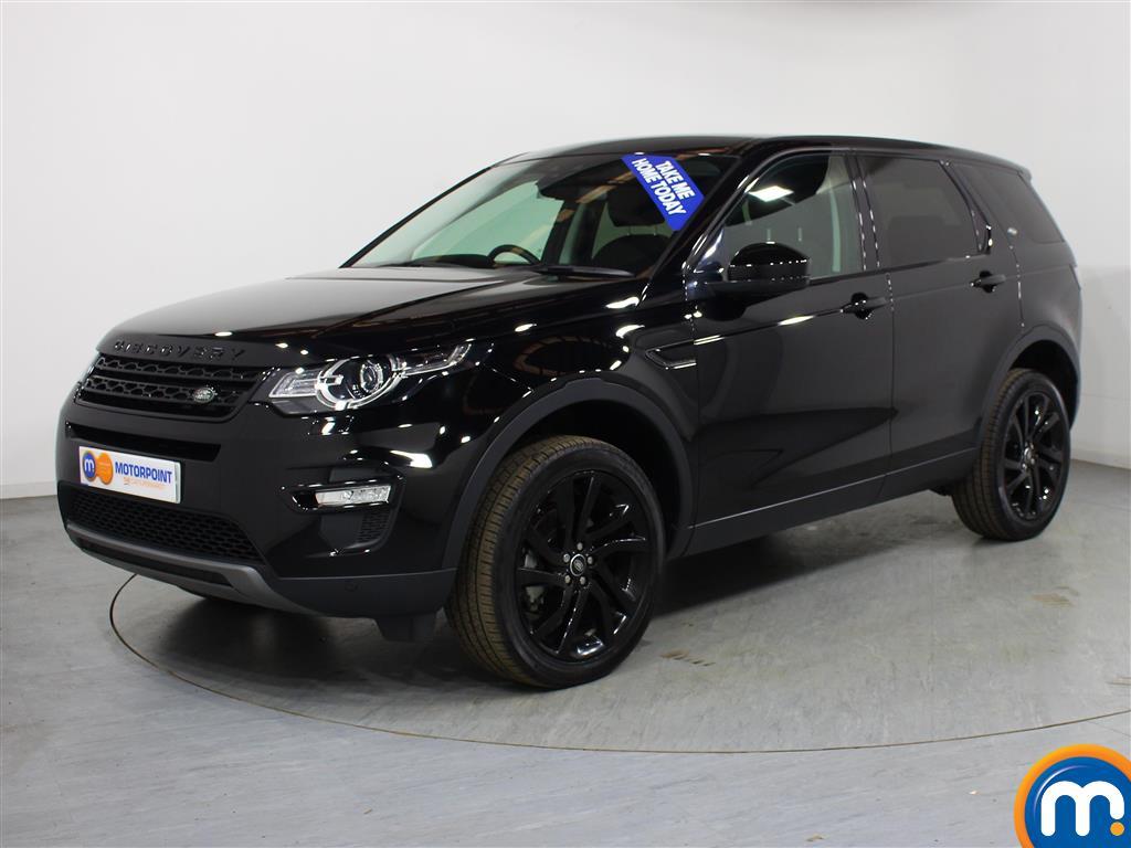 Land Rover Discovery Sport HSE Black - Stock Number (1018870) - Passenger side front corner
