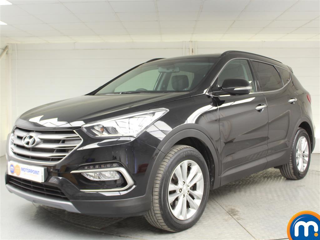 Hyundai Santa Fe Premium - Stock Number (1017191) - Passenger side front corner