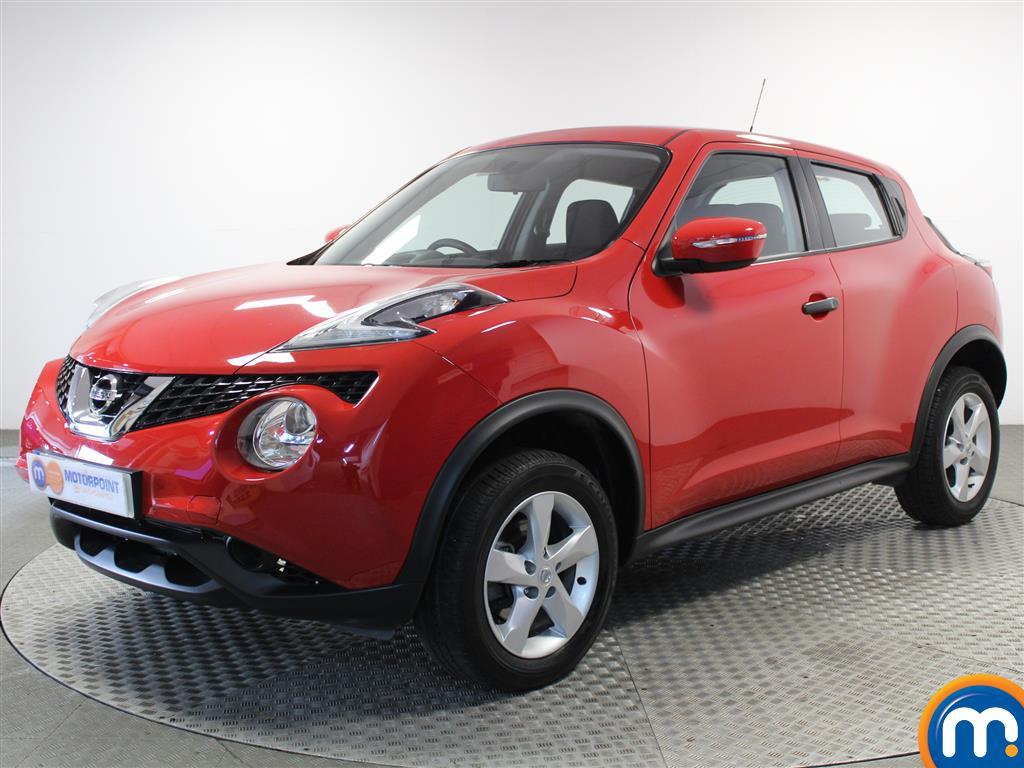 Nissan Juke Visia - Stock Number (1015725) - Passenger side front corner