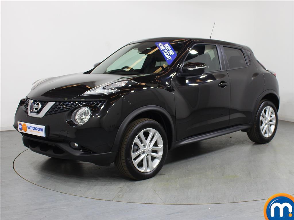 Nissan Juke N-Connecta - Stock Number (1020255) - Passenger side front corner