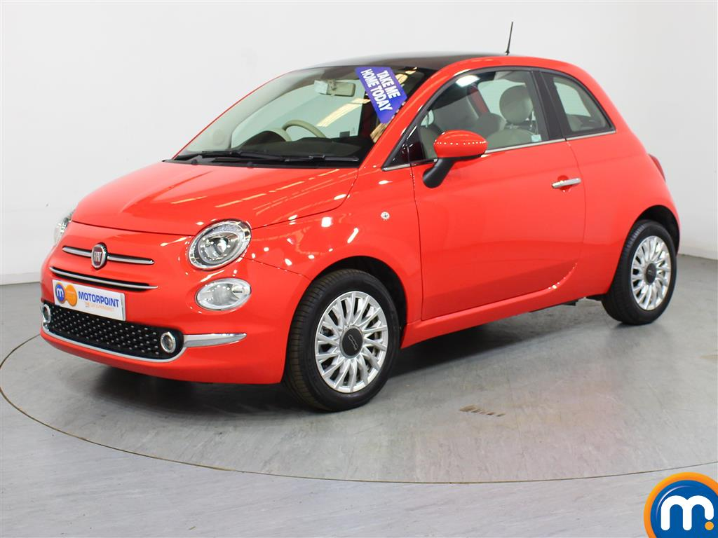 Fiat 500 Lounge - Stock Number (1015984) - Passenger side front corner