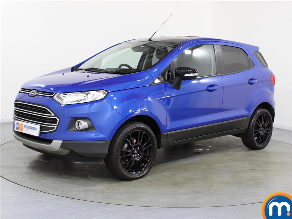 Ford Ecosport Titanium S - Stock Number (1022399) - Passenger side front corner