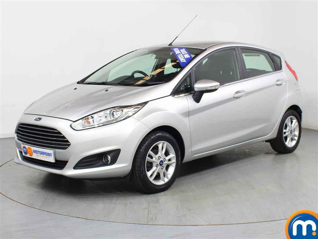 Ford Fiesta Zetec - Stock Number (1018804) - Passenger side front corner