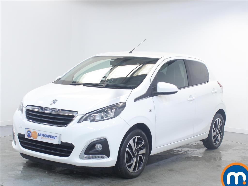 Peugeot 108 Allure - Stock Number (1014270) - Passenger side front corner