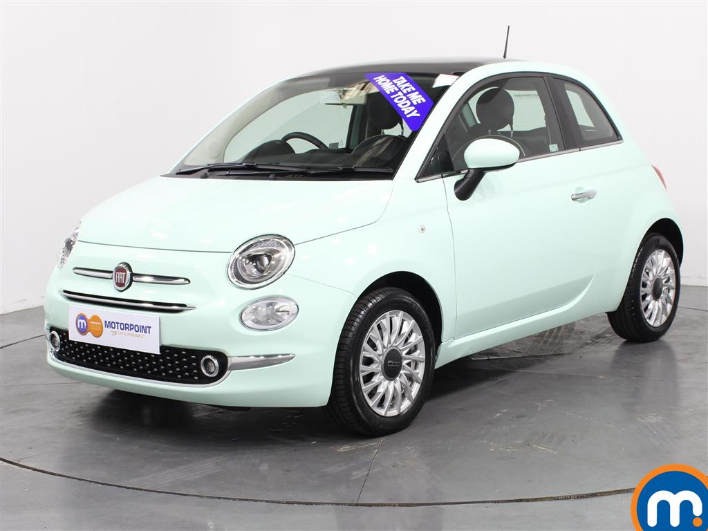 Fiat 500 Lounge - Stock Number (1024425) - Passenger side front corner