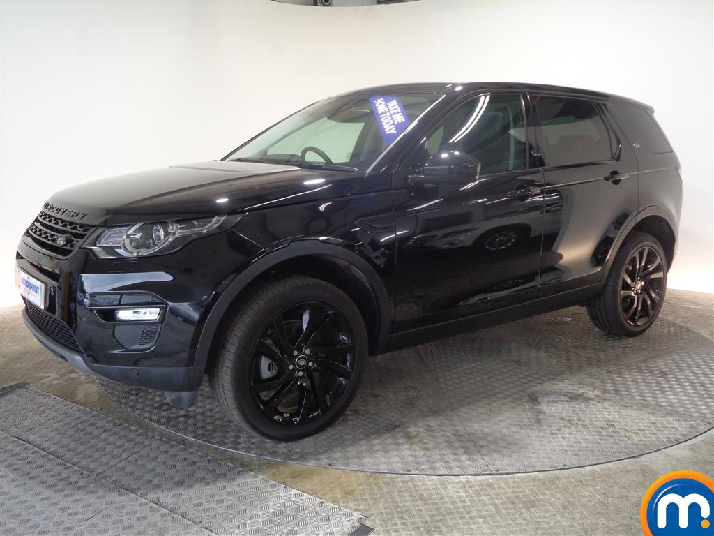 Land Rover Discovery Sport Hse Black Automatic Diesel 4X4 - Stock Number (1022235) - Passenger side front corner