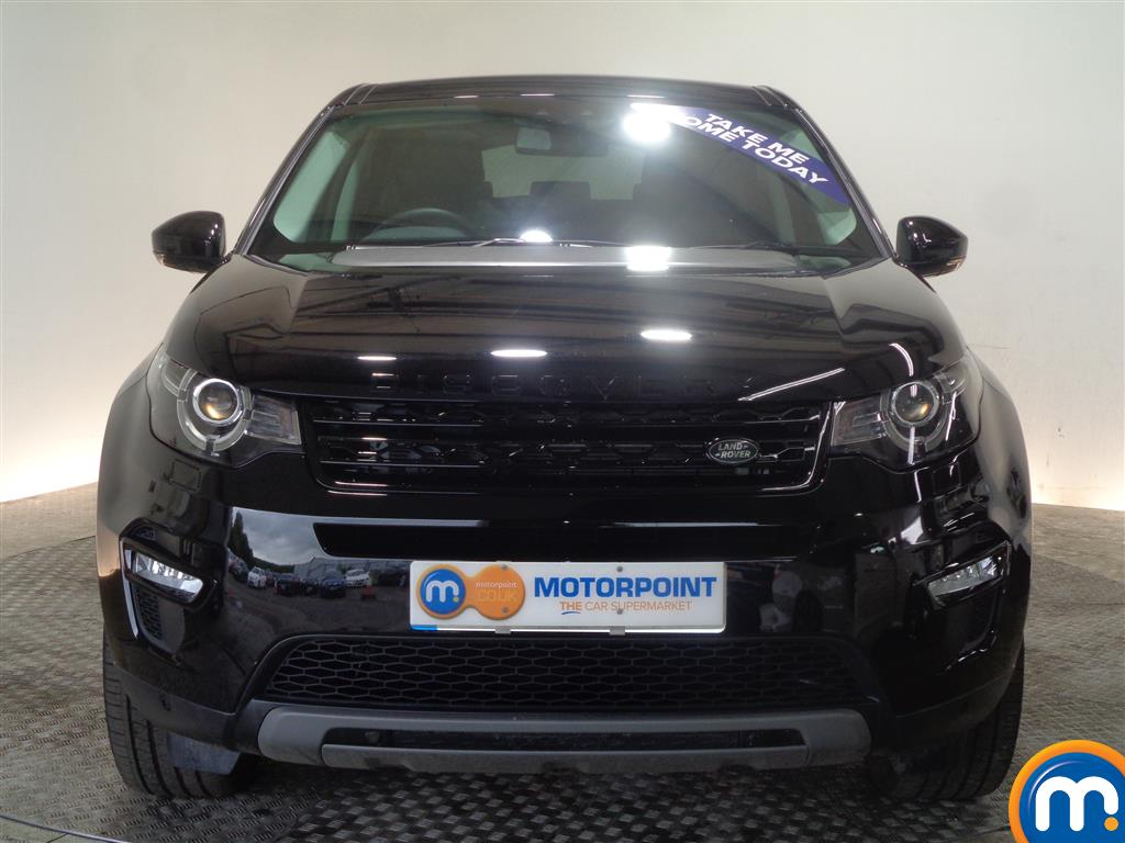 Land Rover Discovery Sport Hse Black Automatic Diesel 4X4 - Stock Number (1022235) - Front bumper