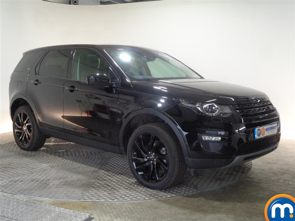 Land Rover Discovery Sport Hse Black Automatic Diesel 4X4 - Stock Number (1022235) - Drivers side front corner