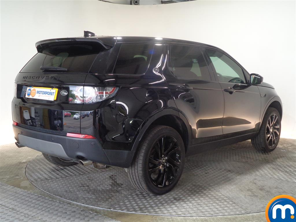 Land Rover Discovery Sport Hse Black Automatic Diesel 4X4 - Stock Number (1022235) - Drivers side rear corner