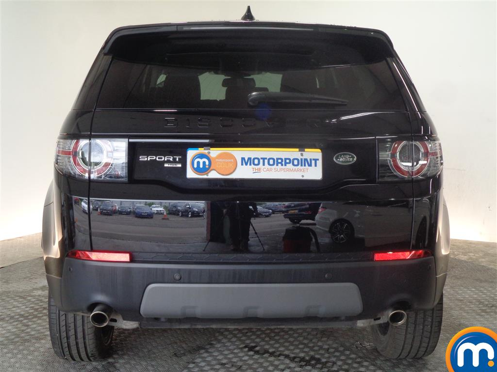 Land Rover Discovery Sport Hse Black Automatic Diesel 4X4 - Stock Number (1022235) - Rear bumper