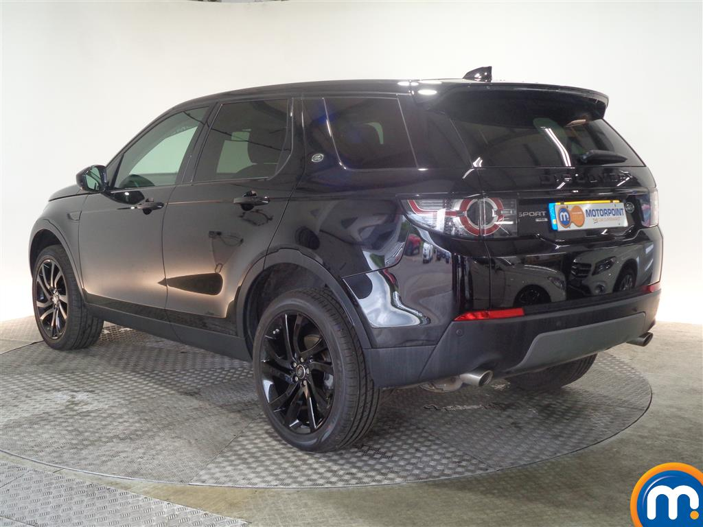 Land Rover Discovery Sport Hse Black Automatic Diesel 4X4 - Stock Number (1022235) - Passenger side rear corner
