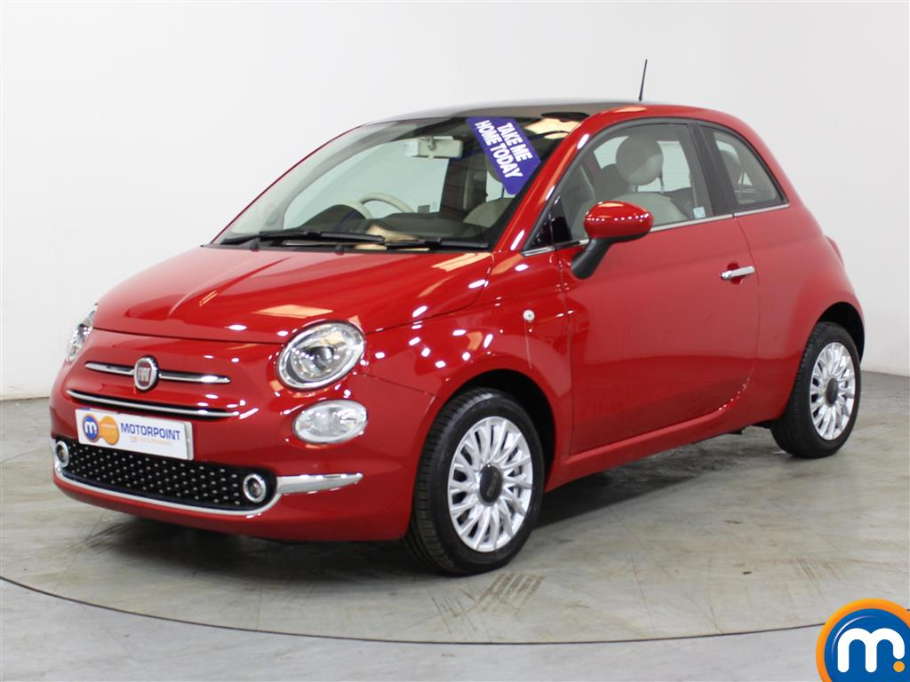Fiat 500 Lounge - Stock Number (1012749) - Passenger side front corner