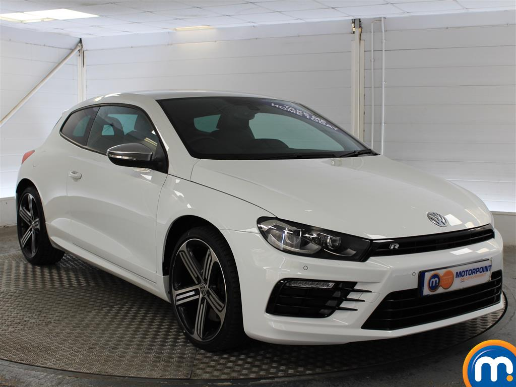 Volkswagen Scirocco R Manual Petrol Coupe - Stock Number (1020229) - Drivers side front corner
