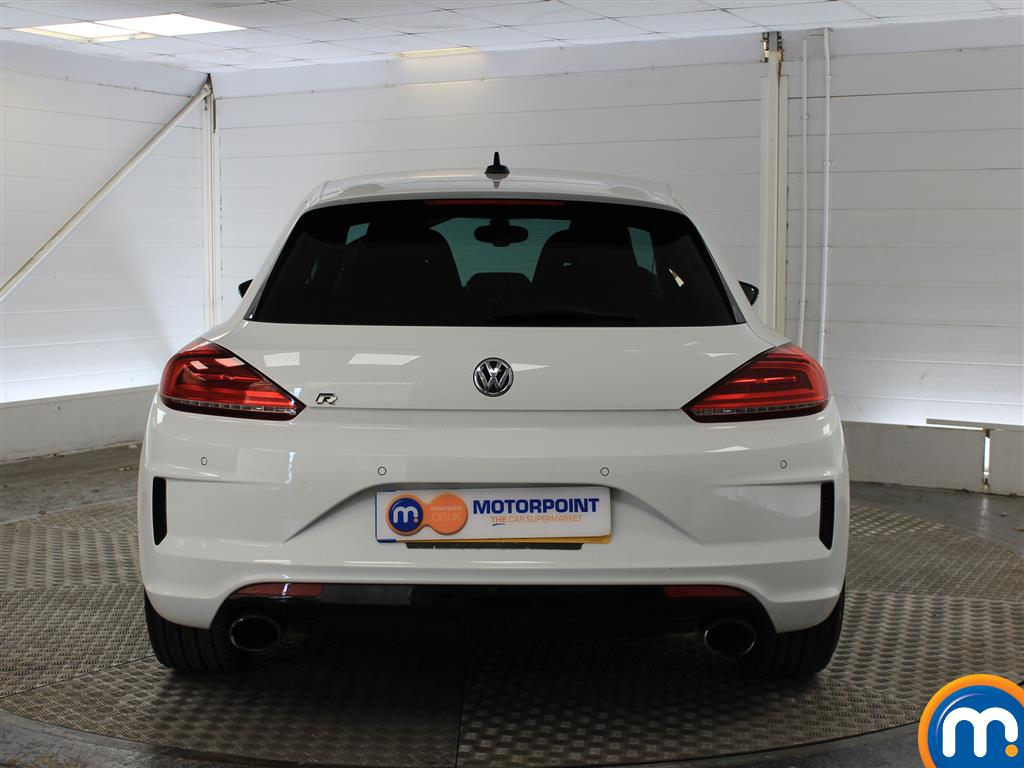 Volkswagen Scirocco R Manual Petrol Coupe - Stock Number (1020229) - Rear bumper