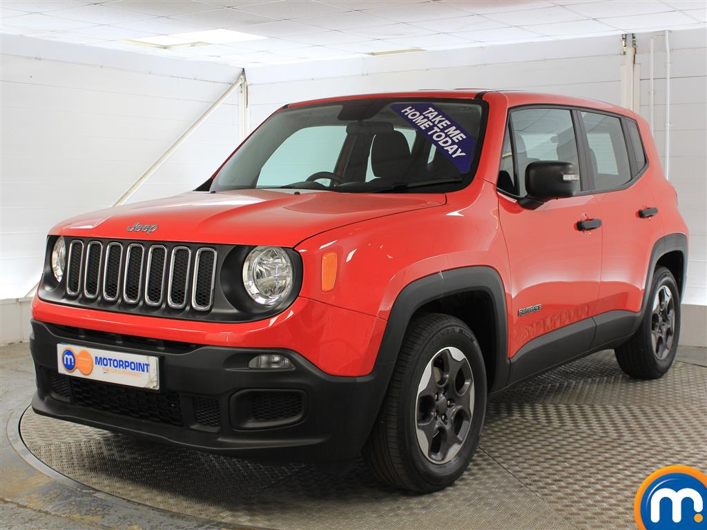 Jeep Renegade Sport - Stock Number (1017803) - Passenger side front corner