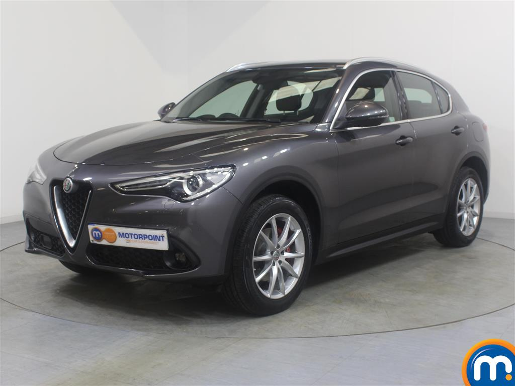 Alfa Romeo Stelvio Speciale - Stock Number 1022246 Passenger side front corner