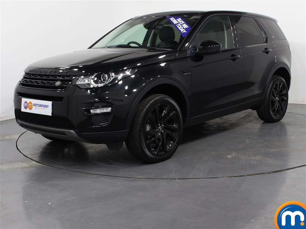 Land Rover Discovery Sport HSE Black - Stock Number (1018861) - Passenger side front corner