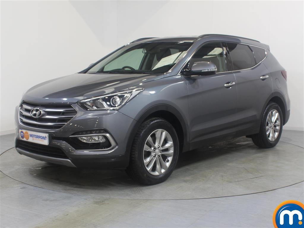 Hyundai Santa Fe Premium - Stock Number (1017224) - Passenger side front corner